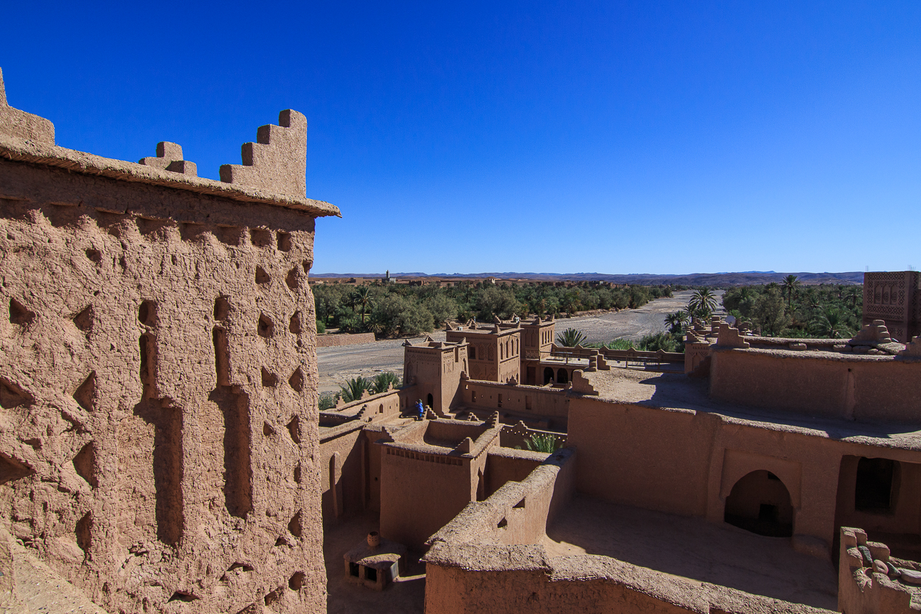 Kasbah Ouzarzate en Marruecos