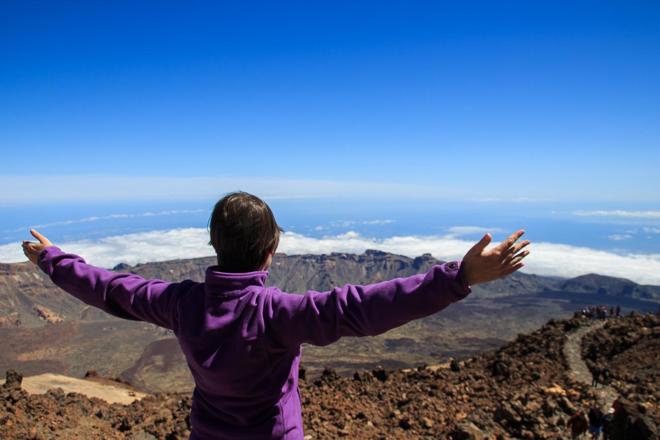 La libertad se siente al subir al Teide