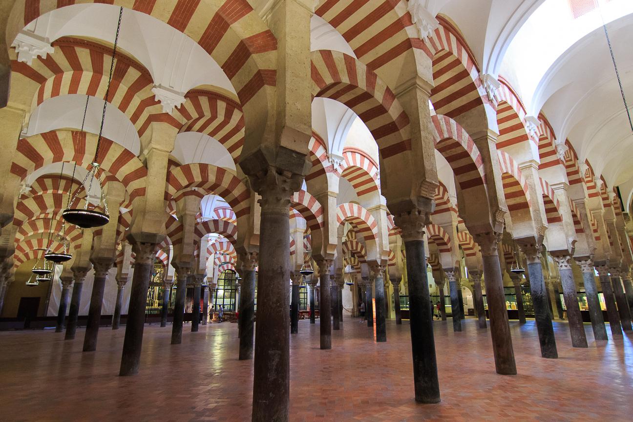 la segunda mezquita mas grande del Mundo esta en Cordoba