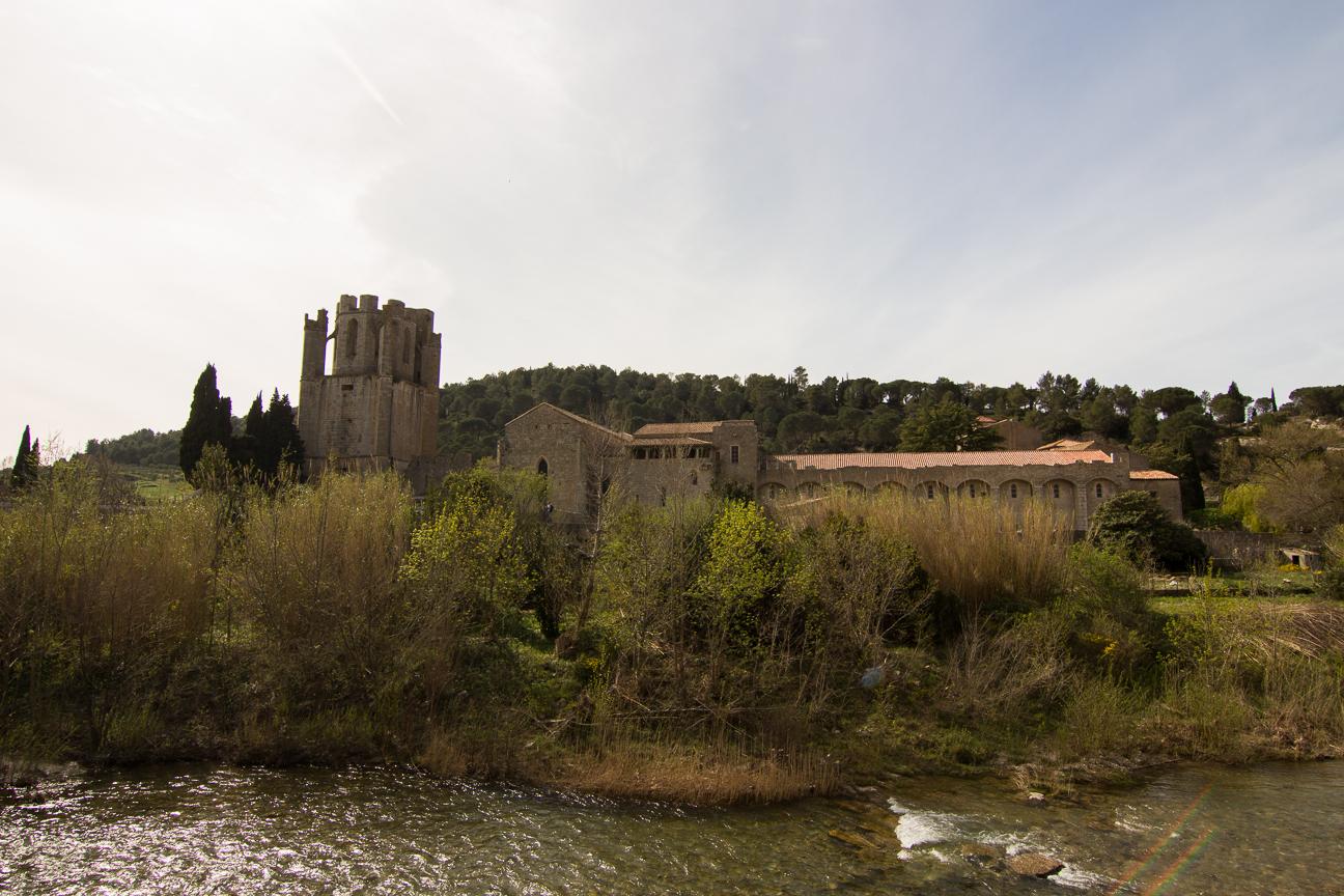 La abadia de Lagrasse