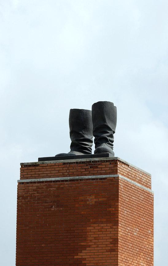Las botas de Stalin - Memento Park en Budapest