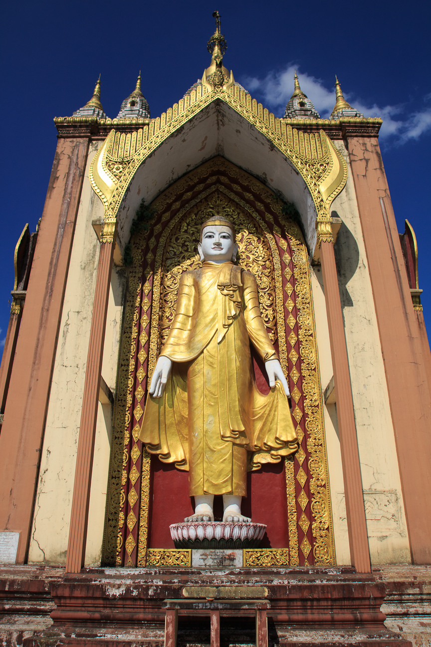 Laymyatnar pagoda en Birmania