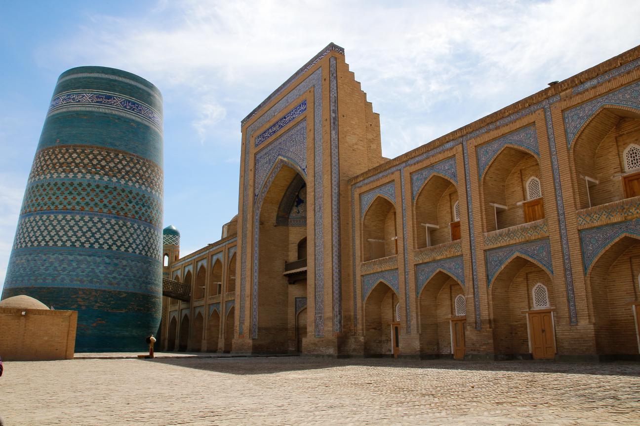 Madraza Mohammad Amin en Khiva