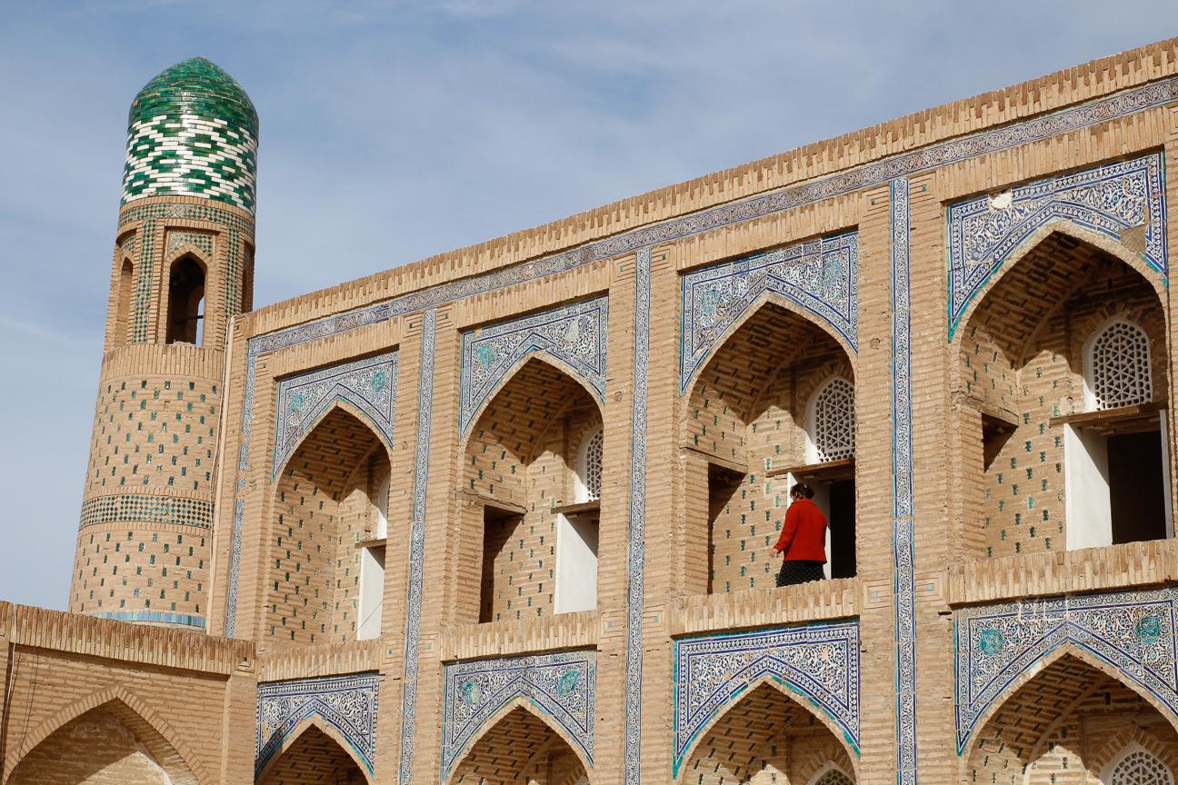 Madraza Muhammad Rahim Khan II en Khiva