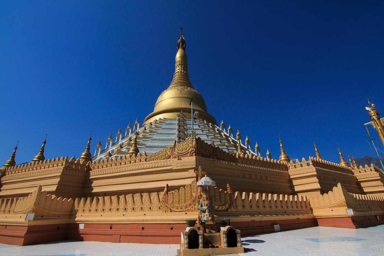 Mahazedi pagoda en Bago