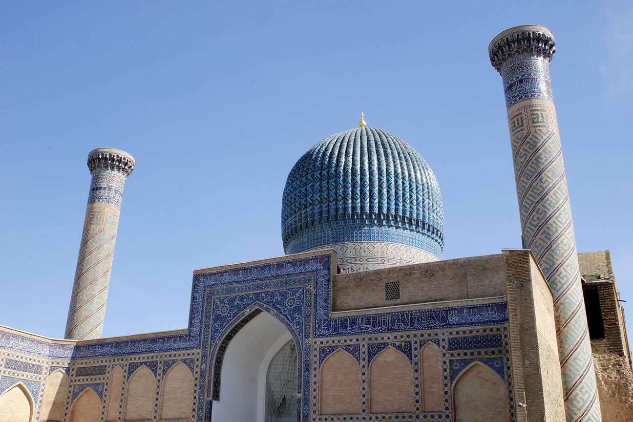 Mausoleo de Gur-i-Amir en Samarcanda