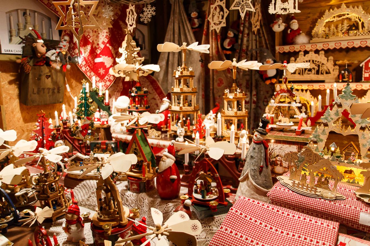 Mercadillo de juguetes en Colmar