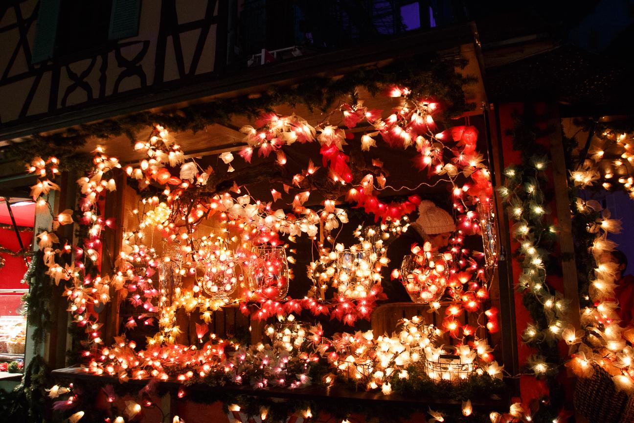 Mercadillo de la Petite Venice en Colmar