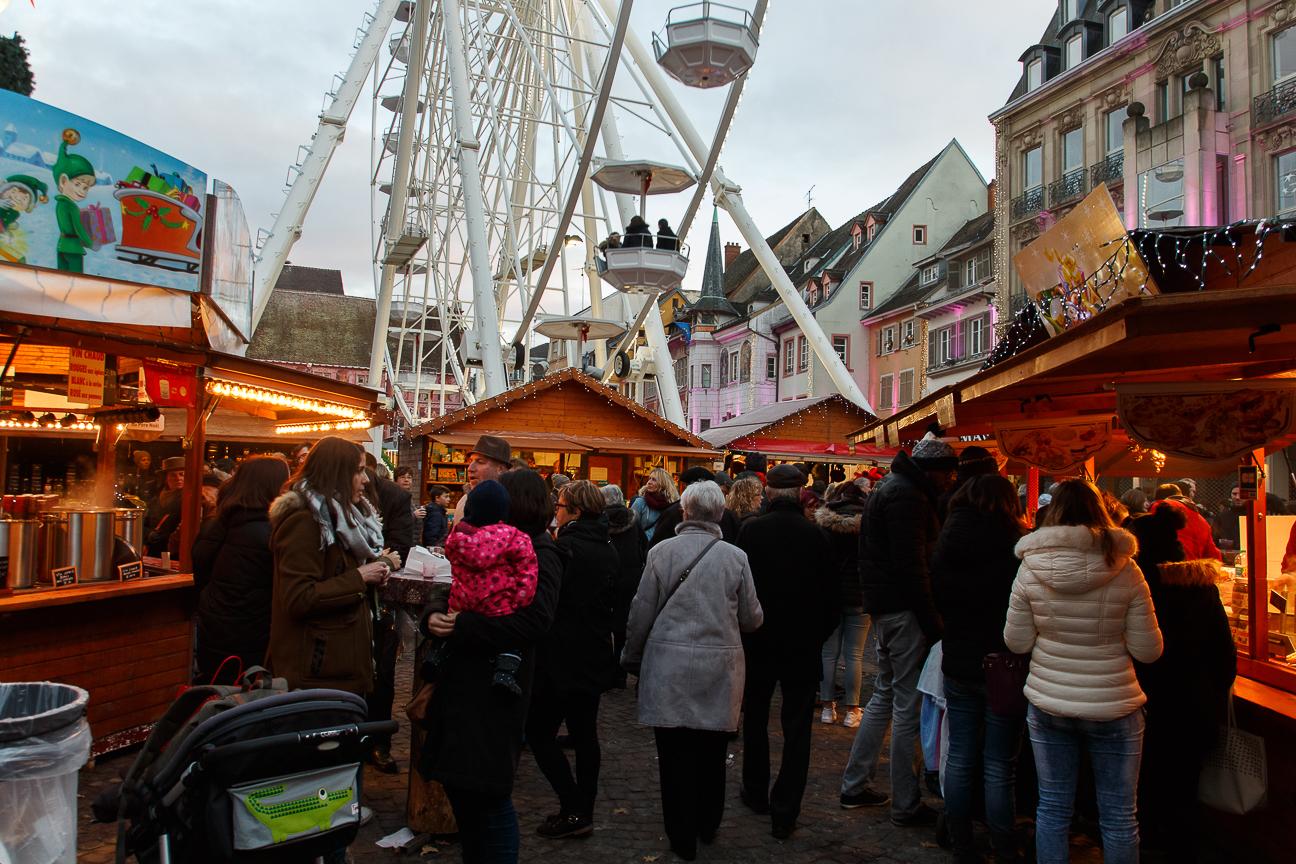 Mercadillo de Navidad en Mulhouse
