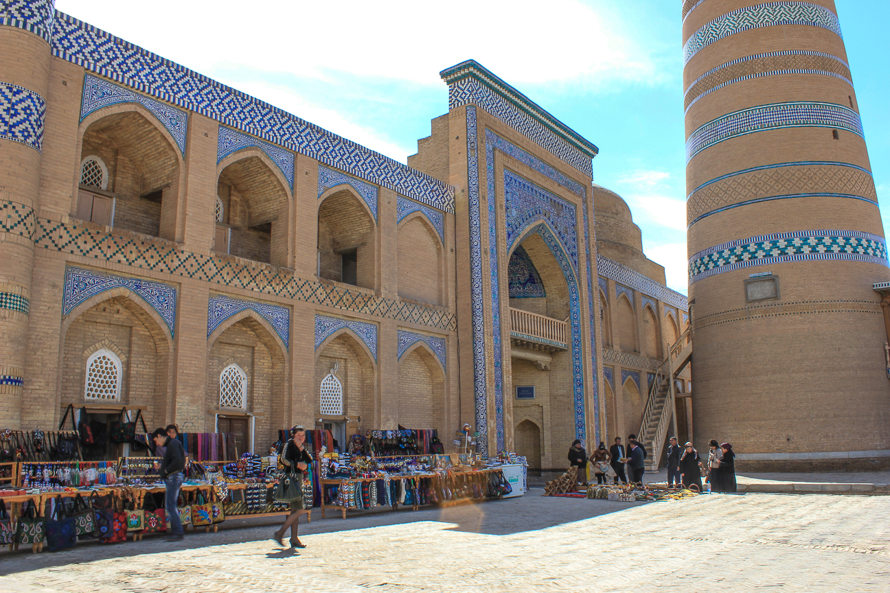 Mercadillo de Uzbekistan