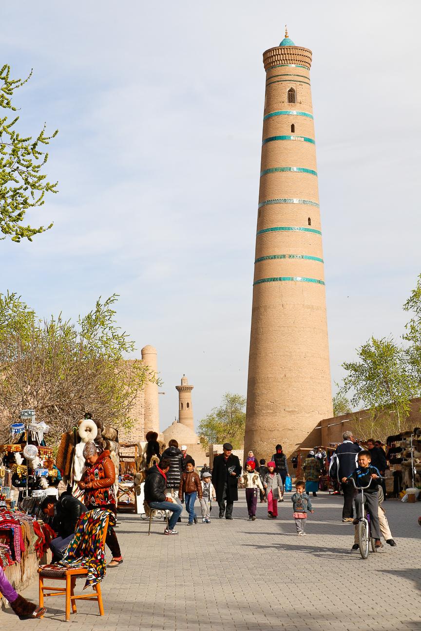 mercados de Khiva - Uzbekistan