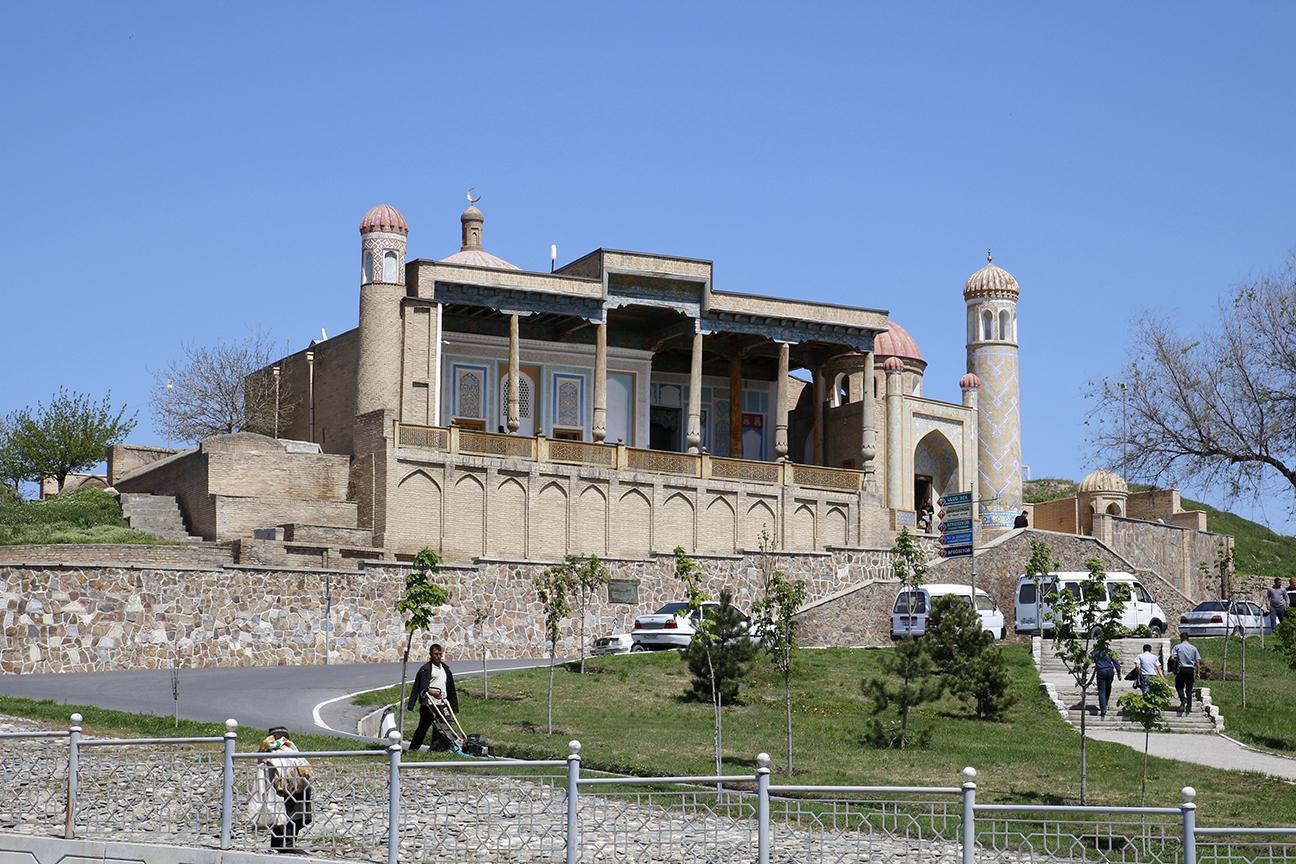 Mezquita Hazrat-Hizr en Samarcanda