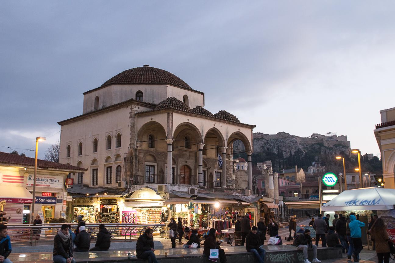 Mezquita plaza monastiraki
