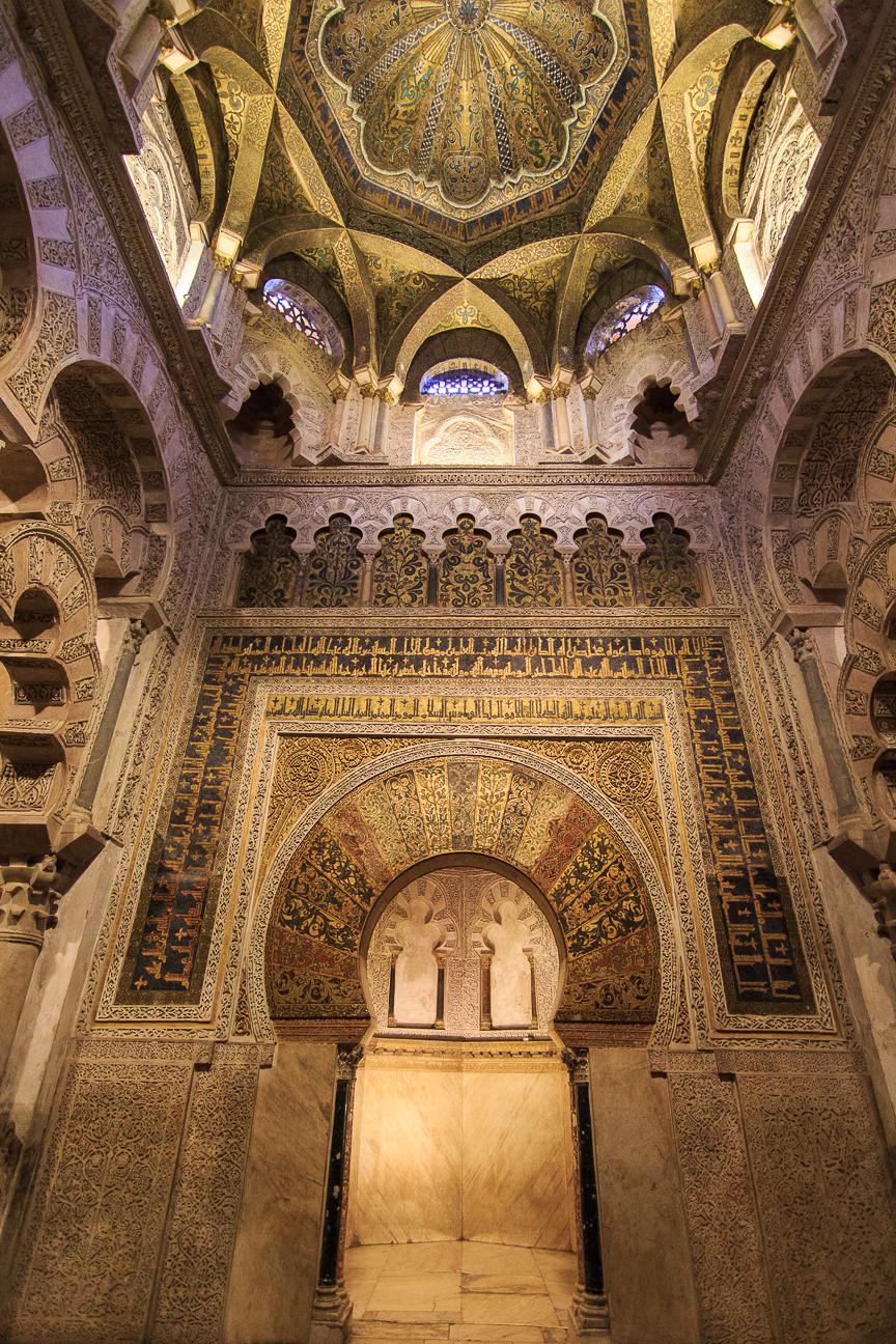 Mihrab de la Mezquita de Cordoba