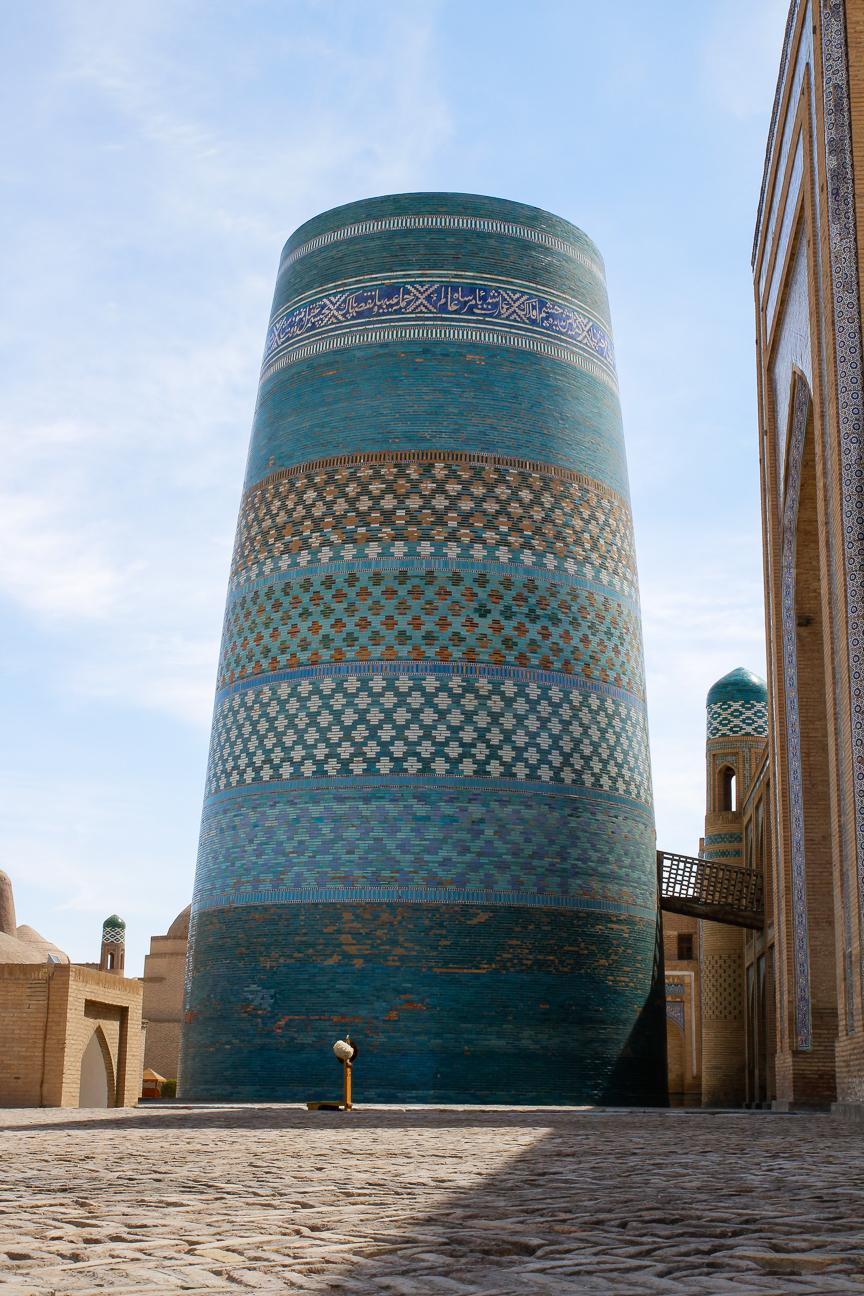 Minarete Kalta Minor en Khiva
