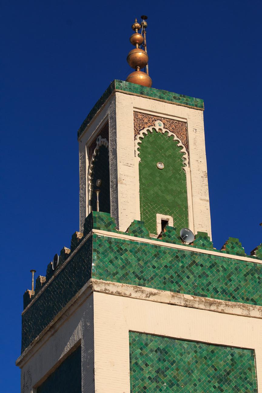 minarete verde meknes