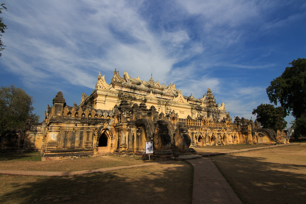 Monasterio Maha Aung Mye Bonzan en Inwa