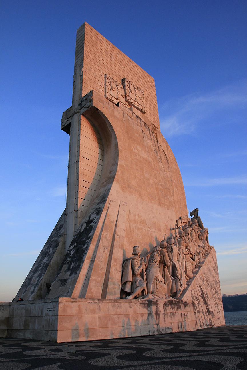 Monumento de los descubridores en Lisboa