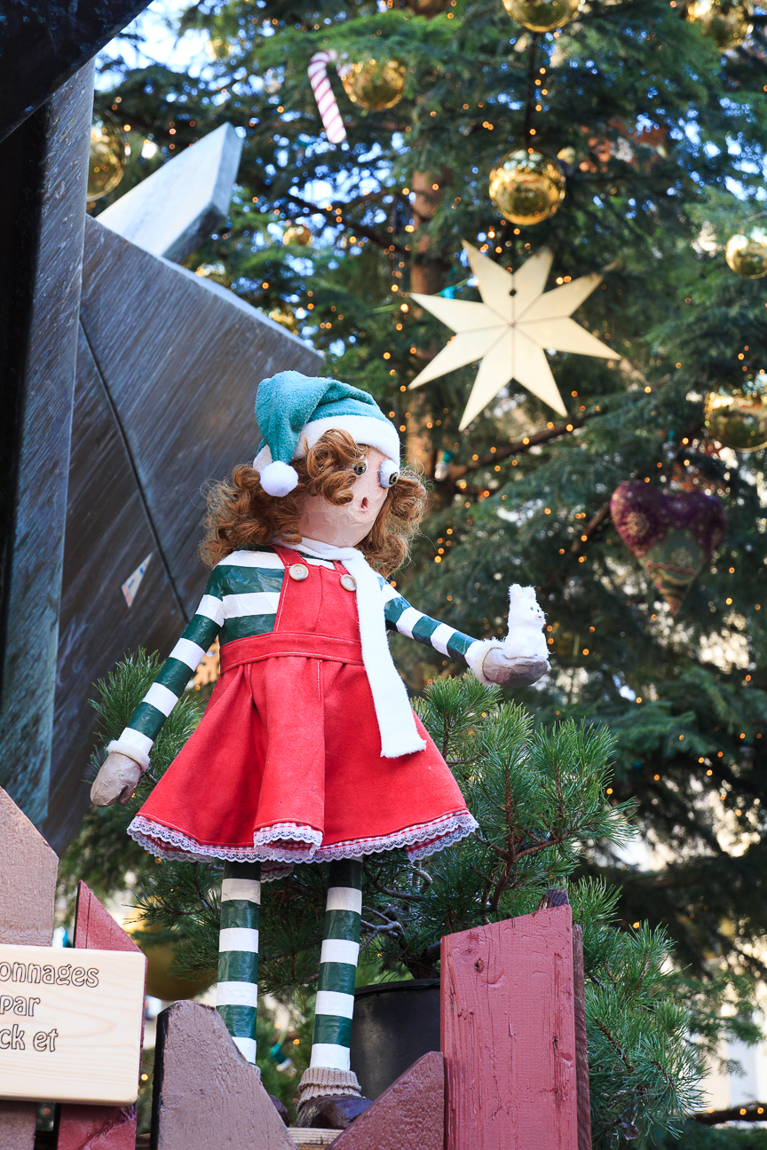 Figura de elfo en Mulhouse