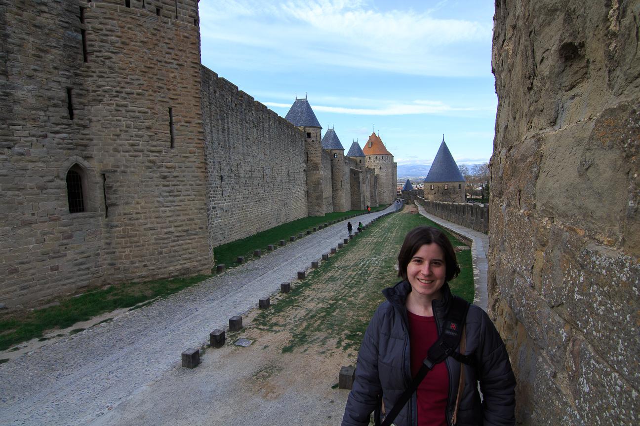 Muralla exterior de Carcassonne
