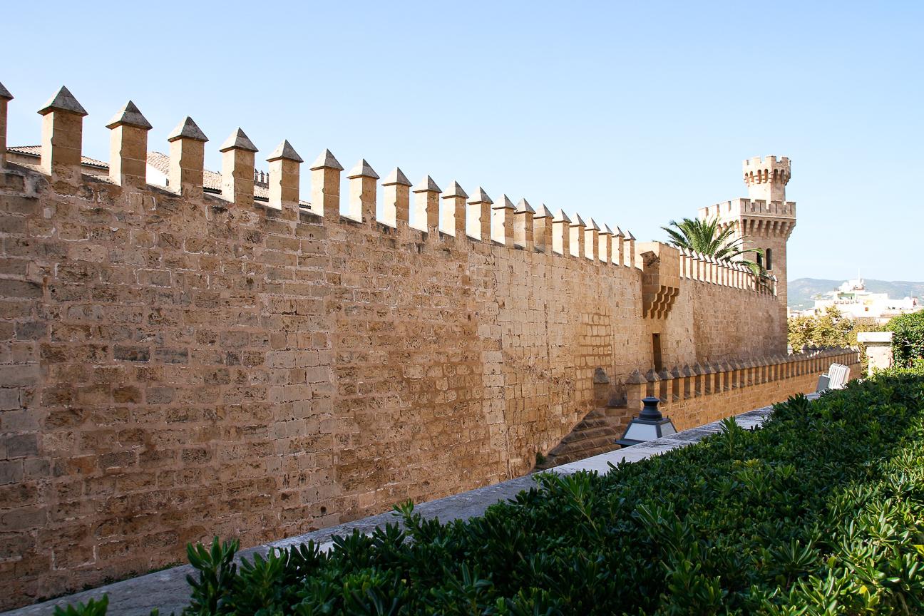 Murallas de la Almudaina de Mallorca