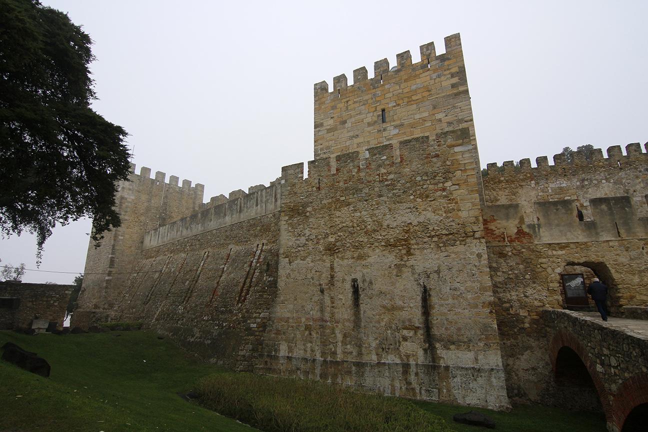 Murallas del castillo de San Jorge