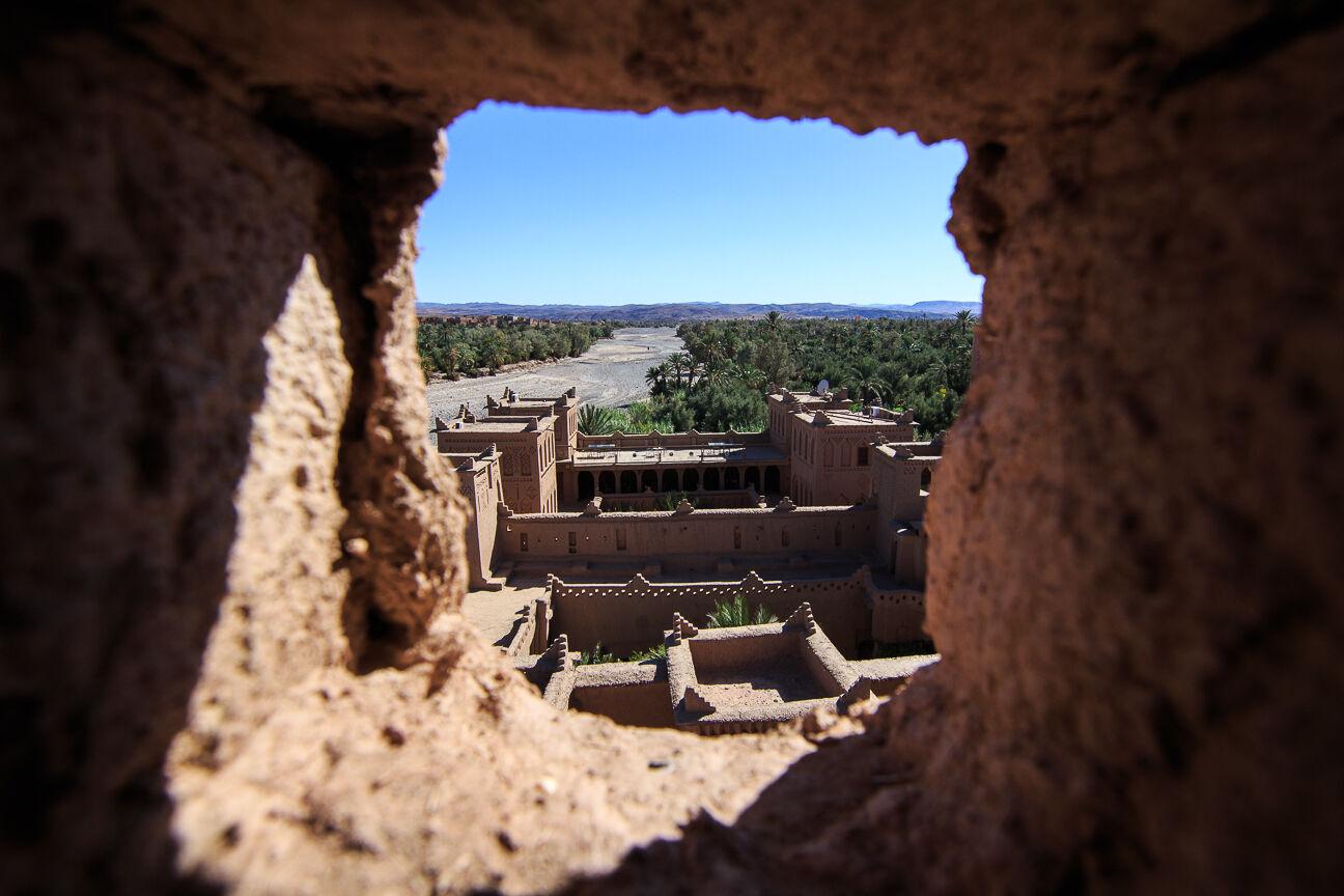 Muros de adobe en Ouazarzazate