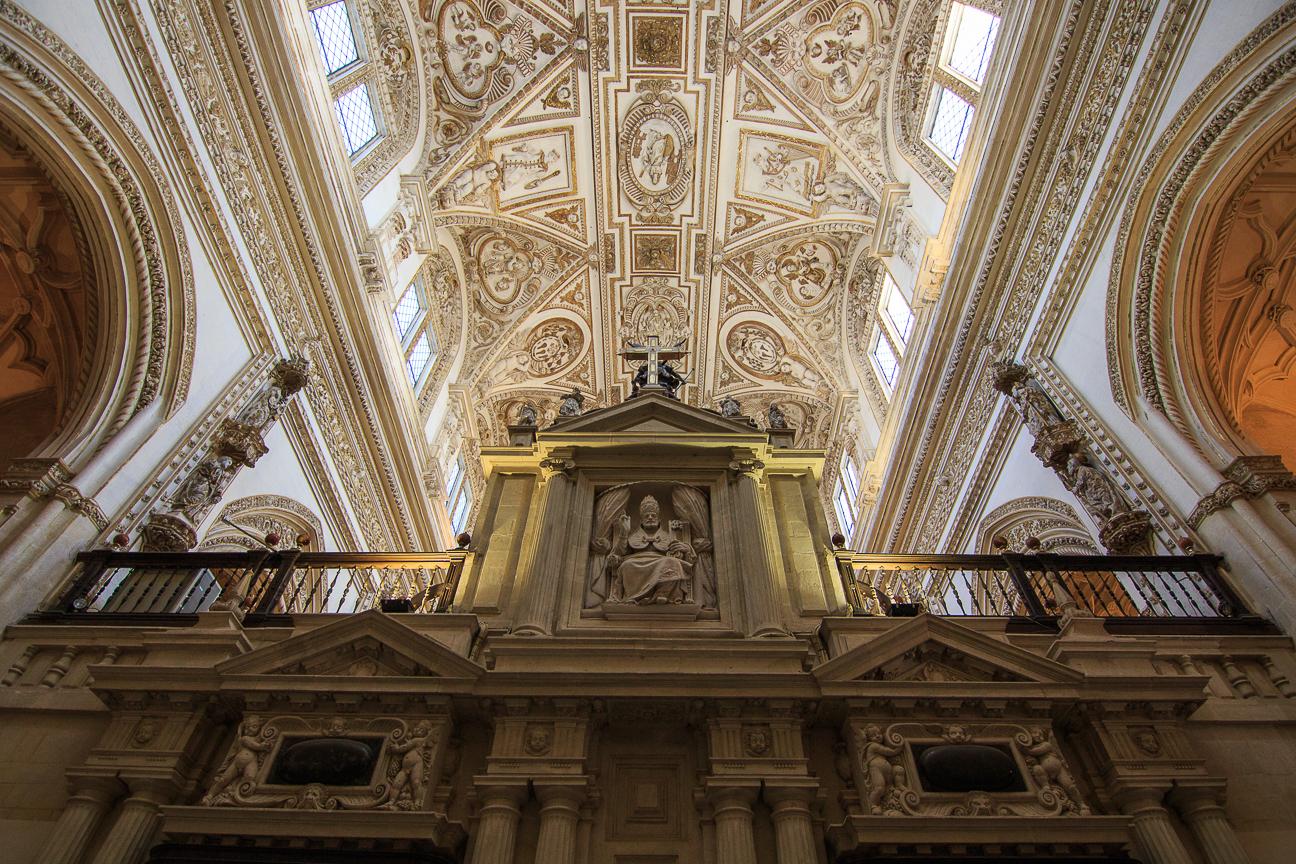 nave central de la Catedral de Cordoba