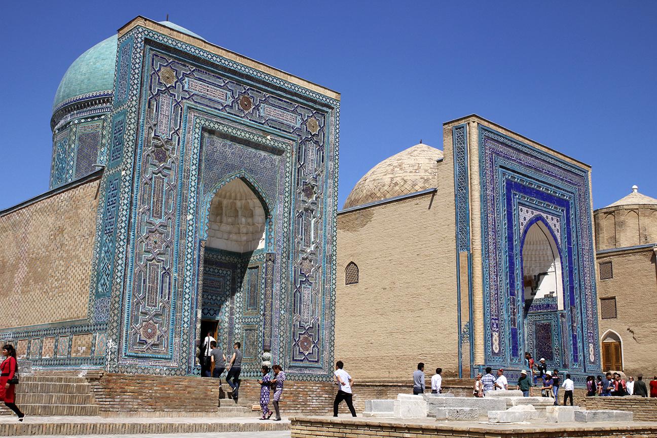 Necropolis de Shah-i-Zinda en Samarcanda