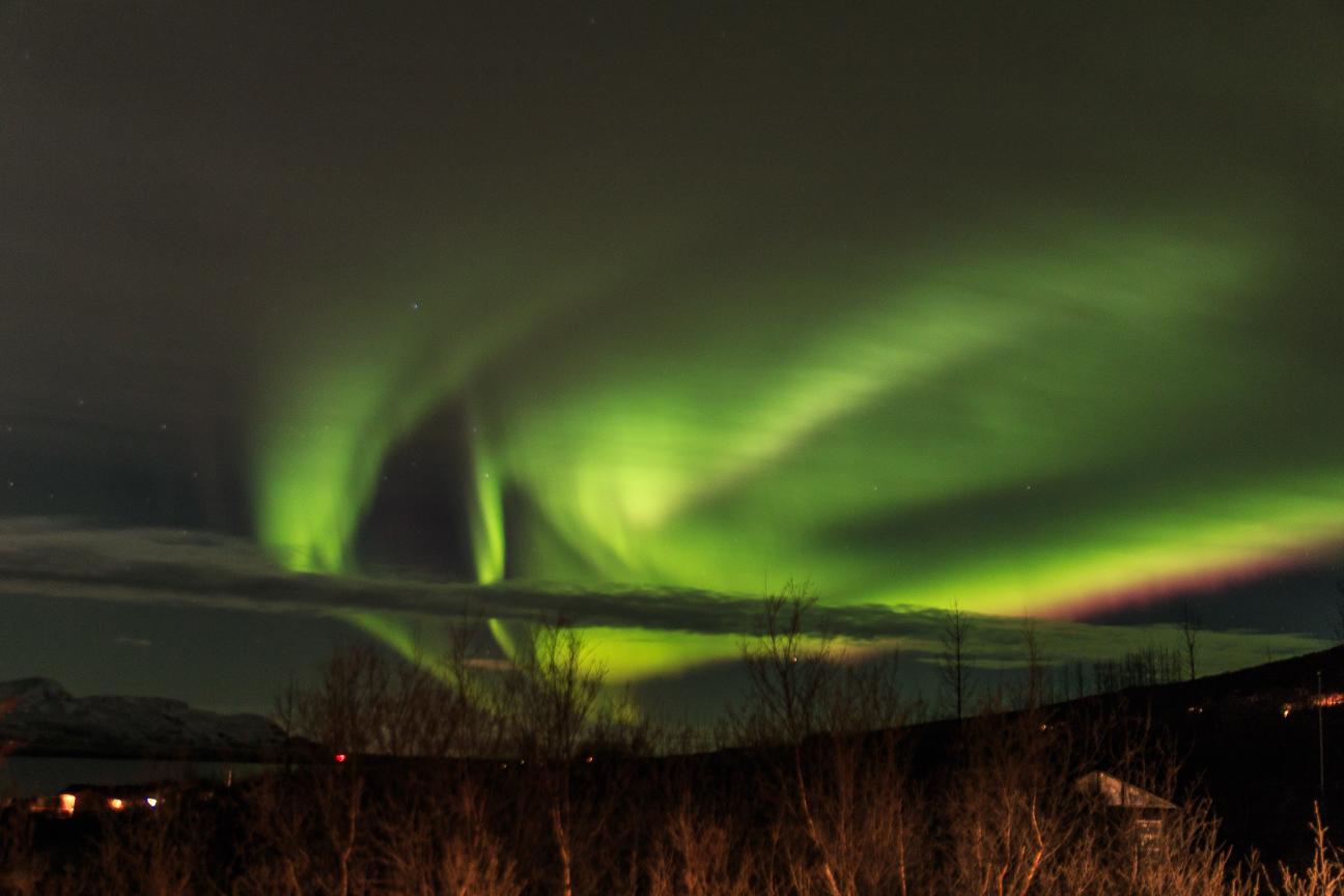 como ver la aurora boreal