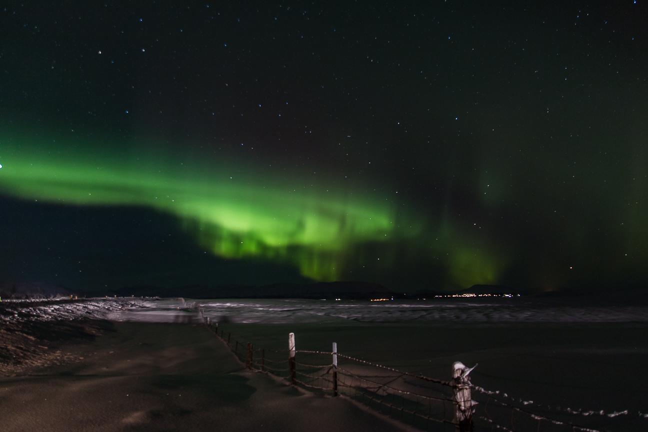 Nuestra primera aurora boreal