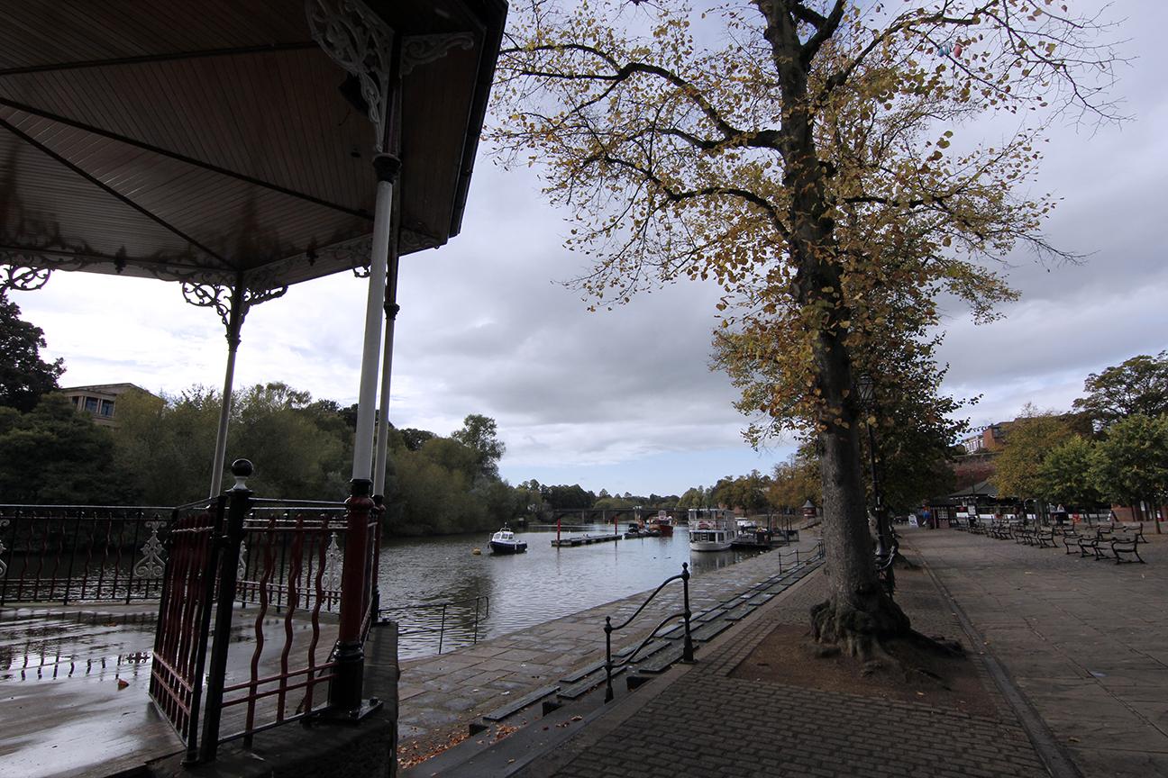 Orillas del Rio Dee en Chester