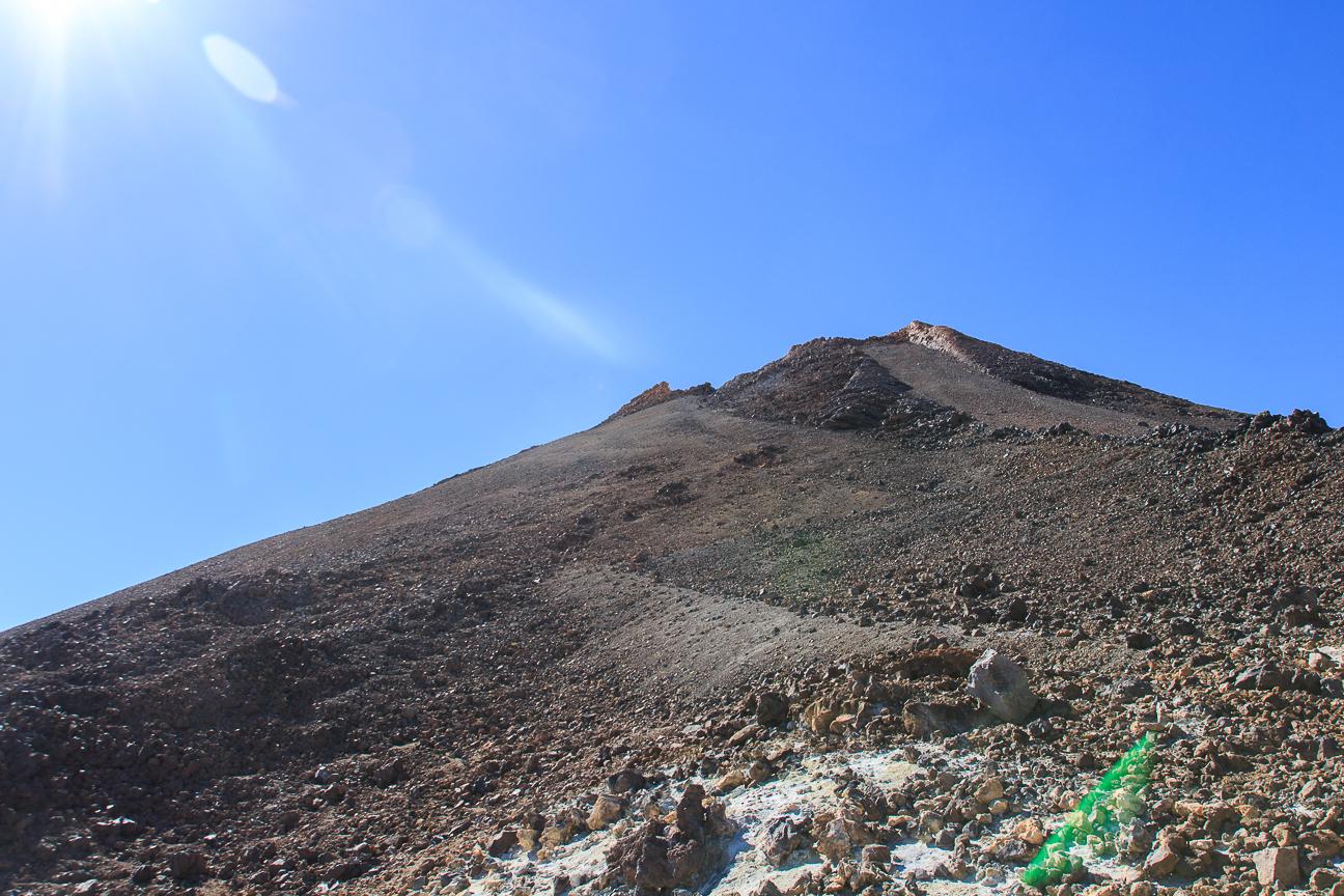 Para subir al Teide hasta la cima se necesita un permiso