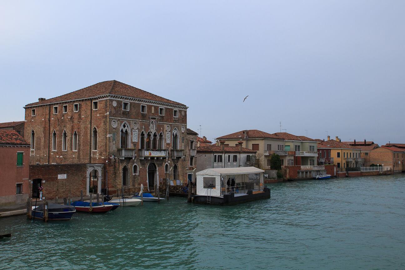 Parada de Vaporetto en Murano