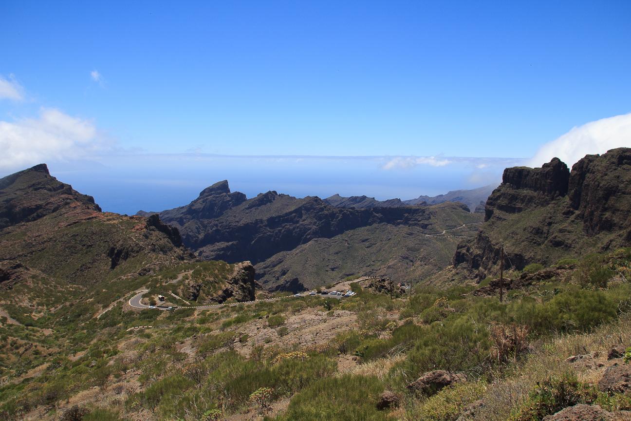 Parque rural del Teno en Tenerife