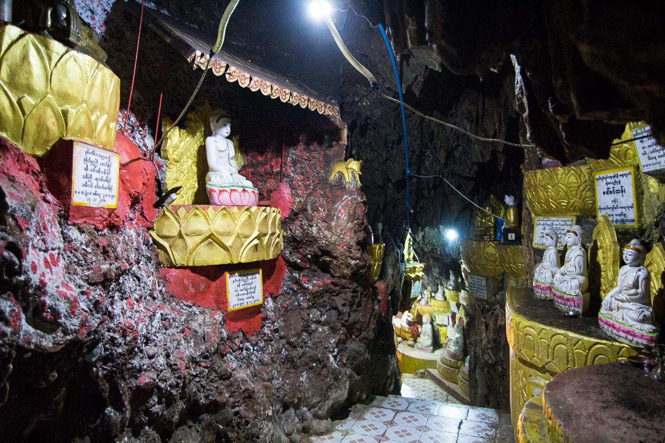 Pasadizos infinitos en las cuevas