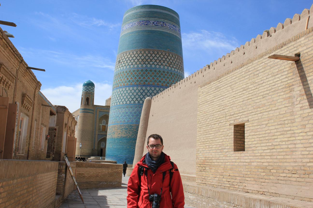 Paseando por las calles de Khiva