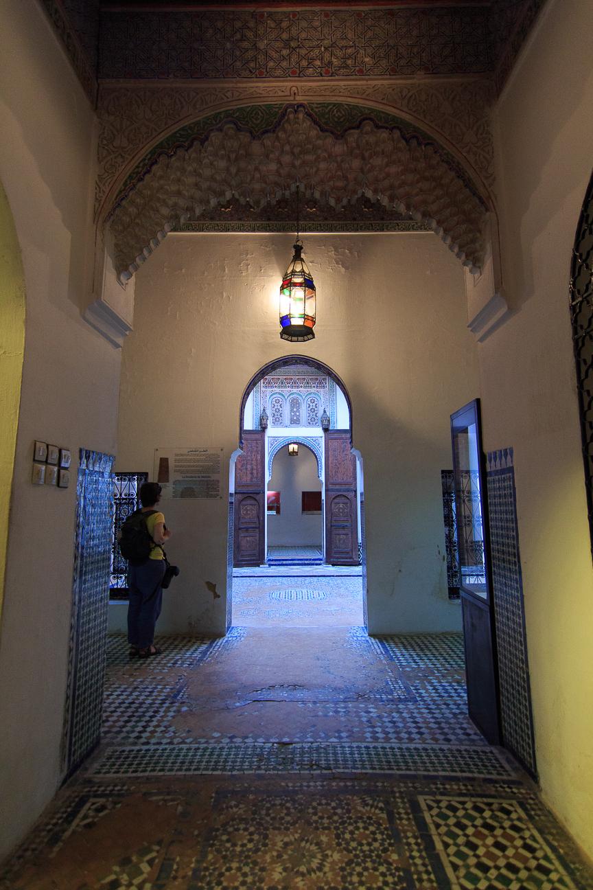 interior museo dar jamai museo de marruecos meknes