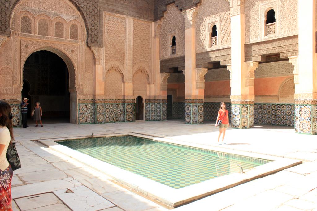 Patio interior de la Madraza Ben Youssef