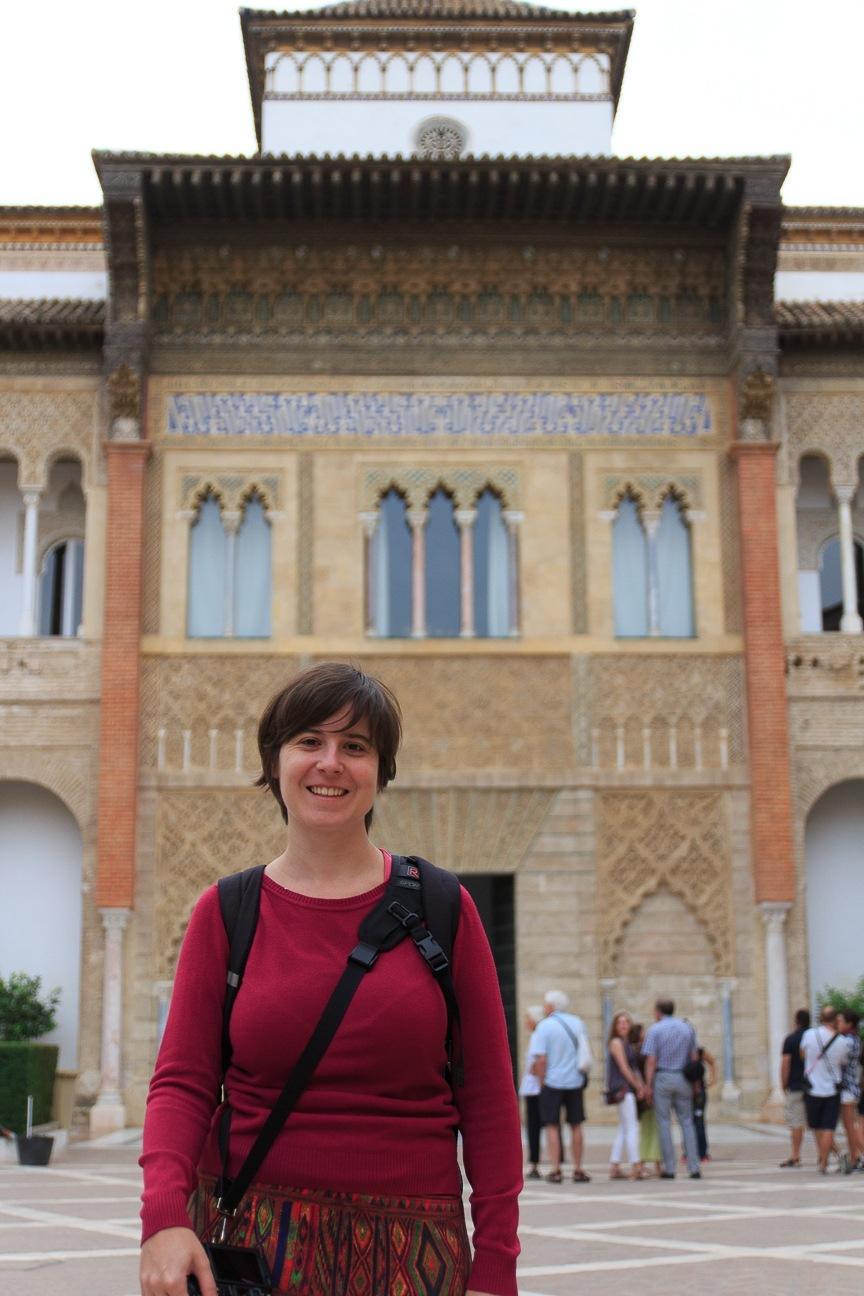 Patio principal del Alcazar de Sevilla