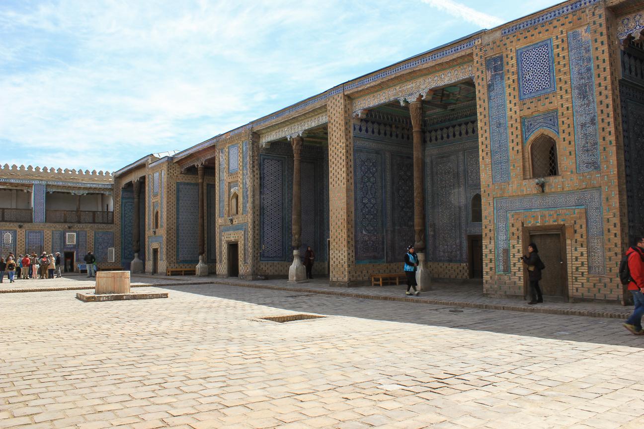 Patio del Palacio Tash Khauli