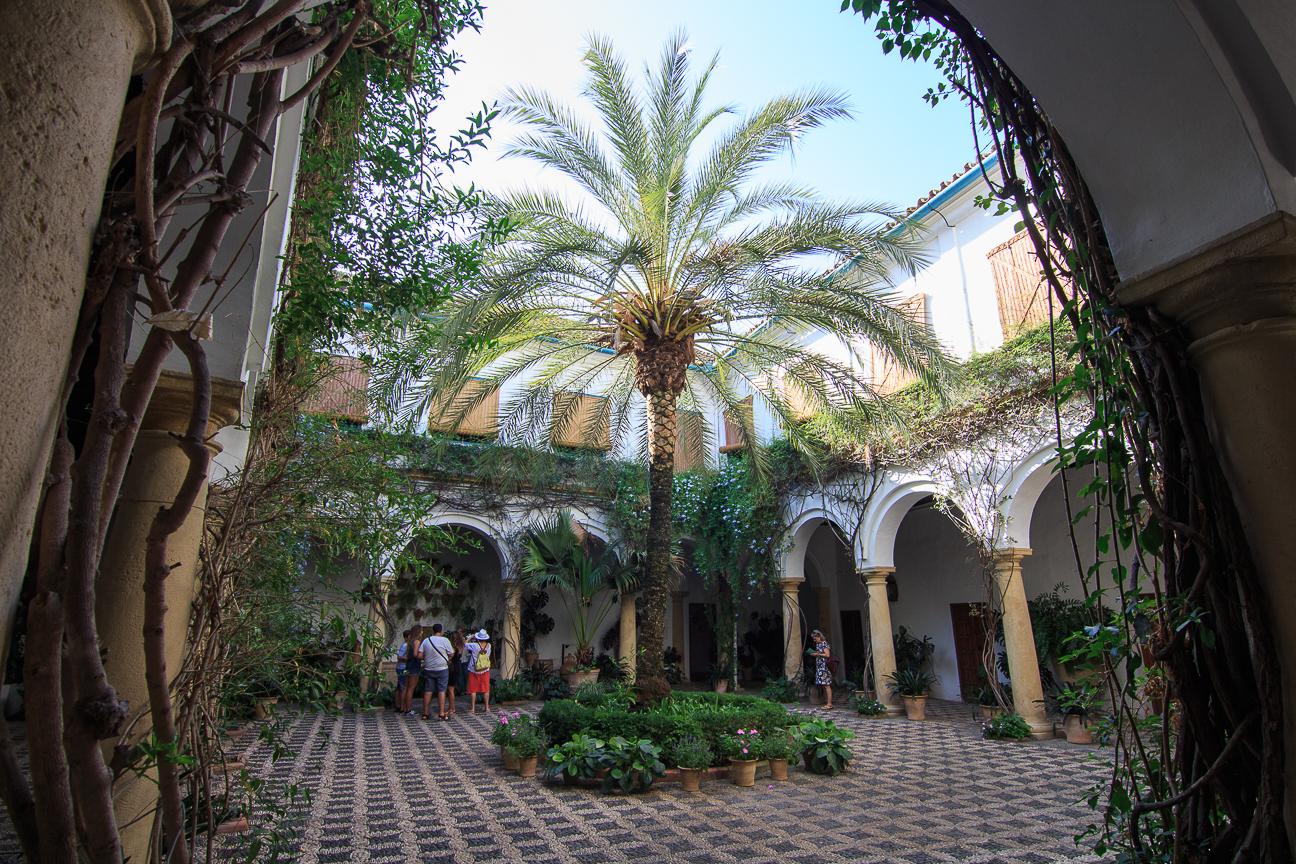 Patios del Palacio de Viana en Cordoba