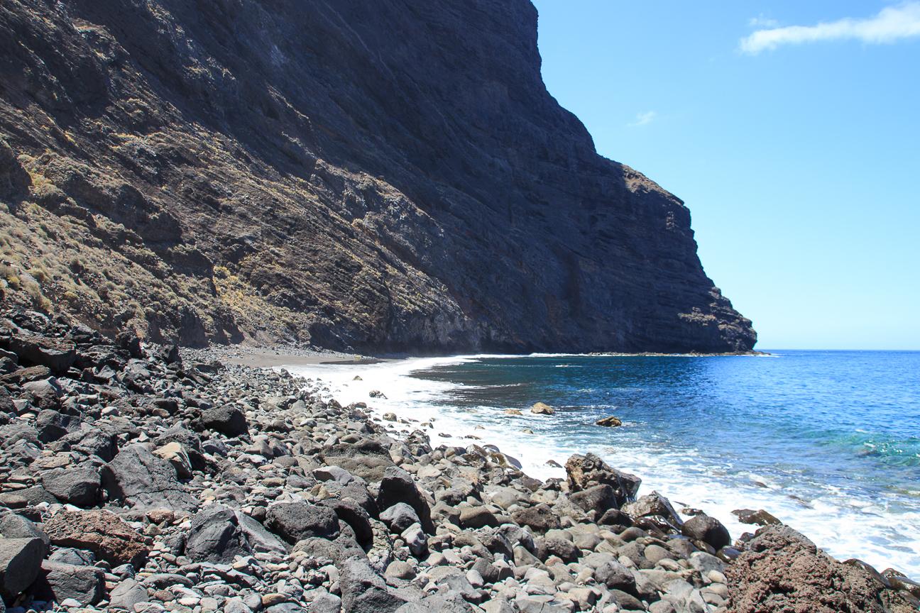Playa del barranco de Masca en Tenerife