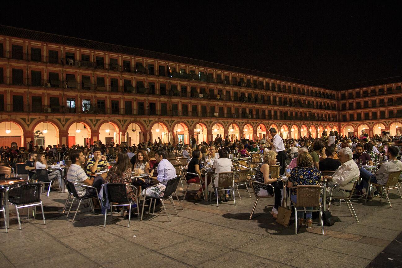 Plaza de la Corredera en Cordoba