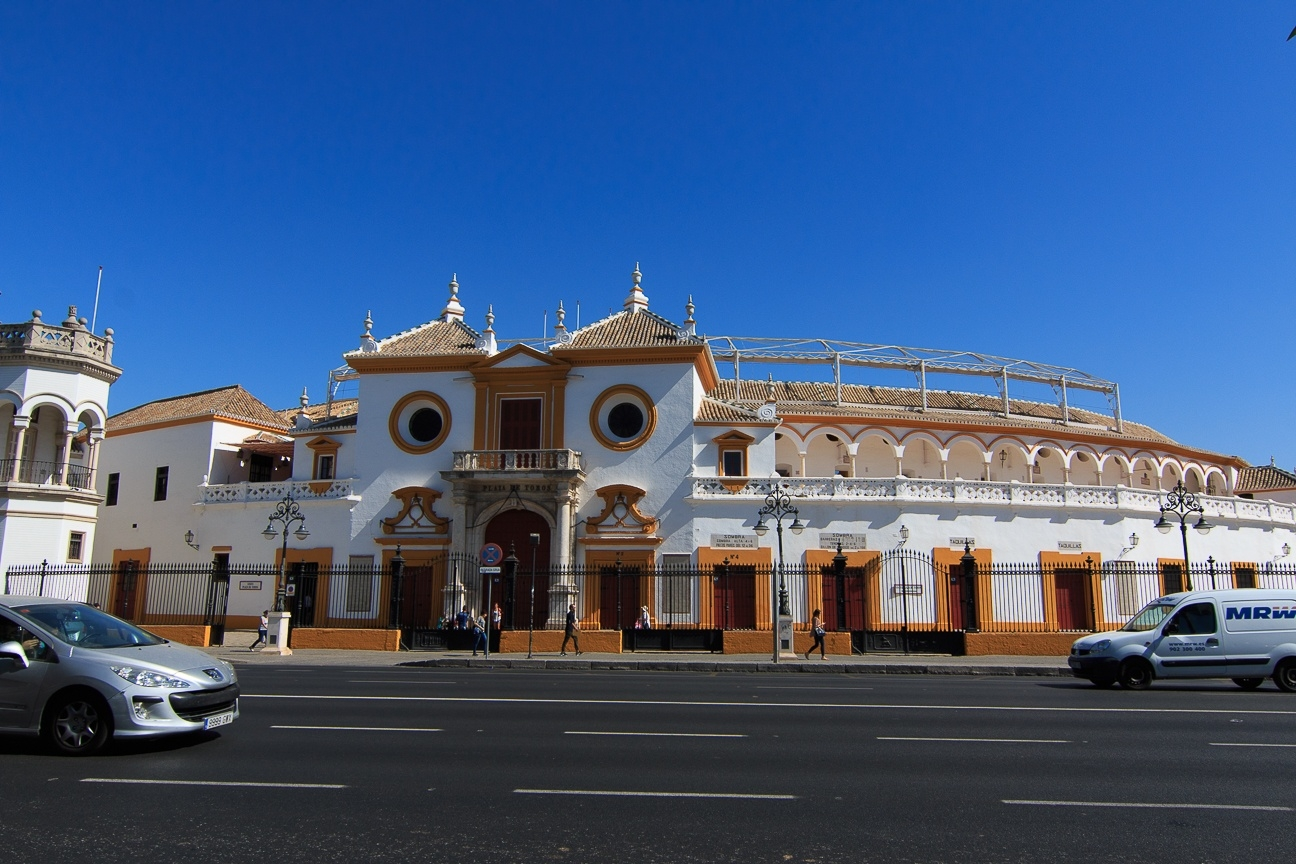 Plaza de toros de la Maestranza en Sevilla