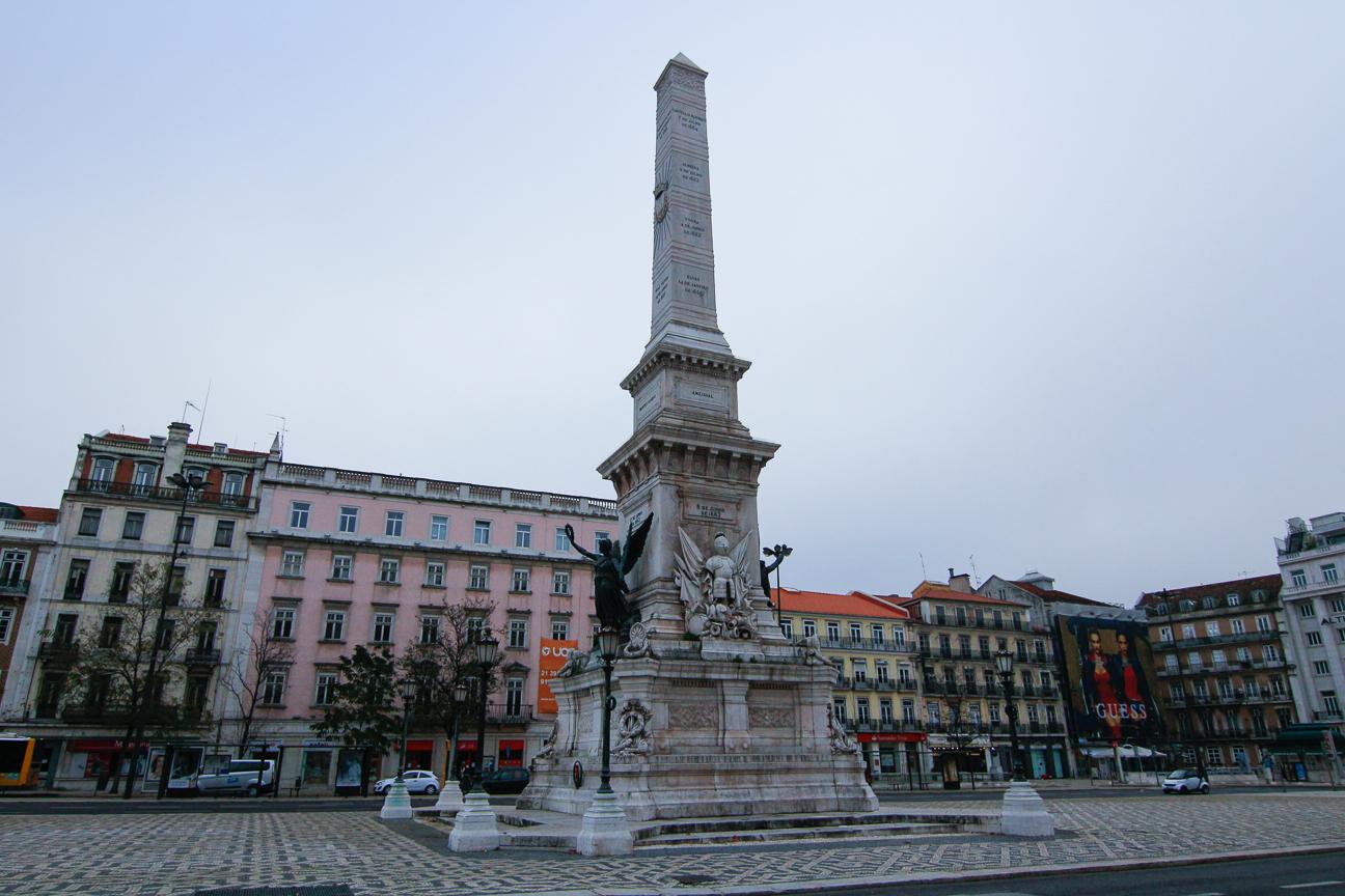 Plaza de los Restauradores de Lisboa