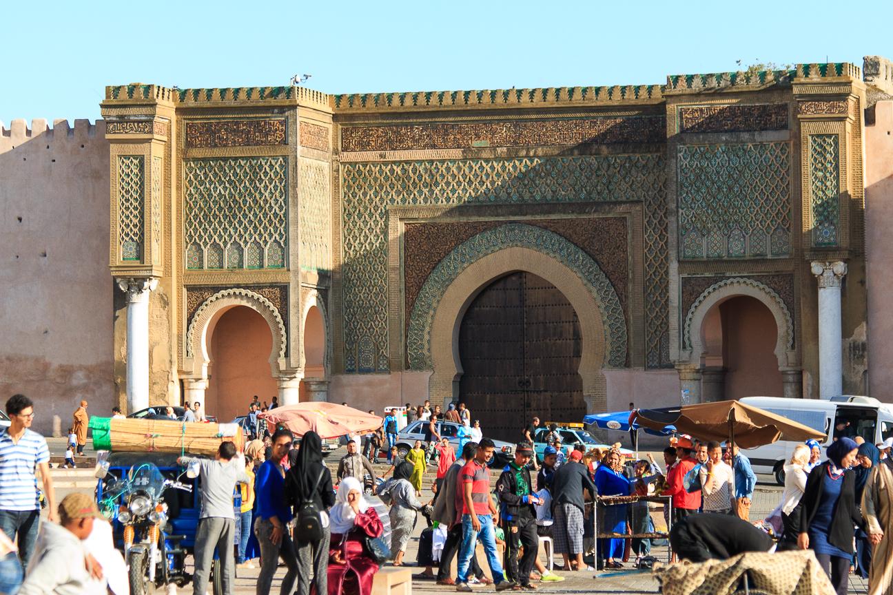 plaza principal meknes el-hedim
