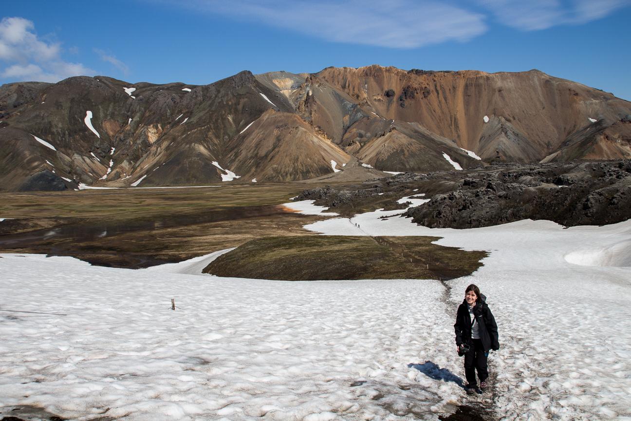 Por aqui tuvimos el susto del hielo