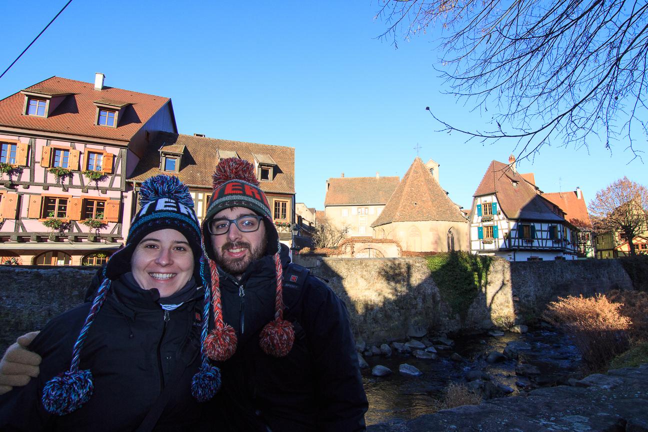 Pueblo de Alsacia - Kayserberg en Francia