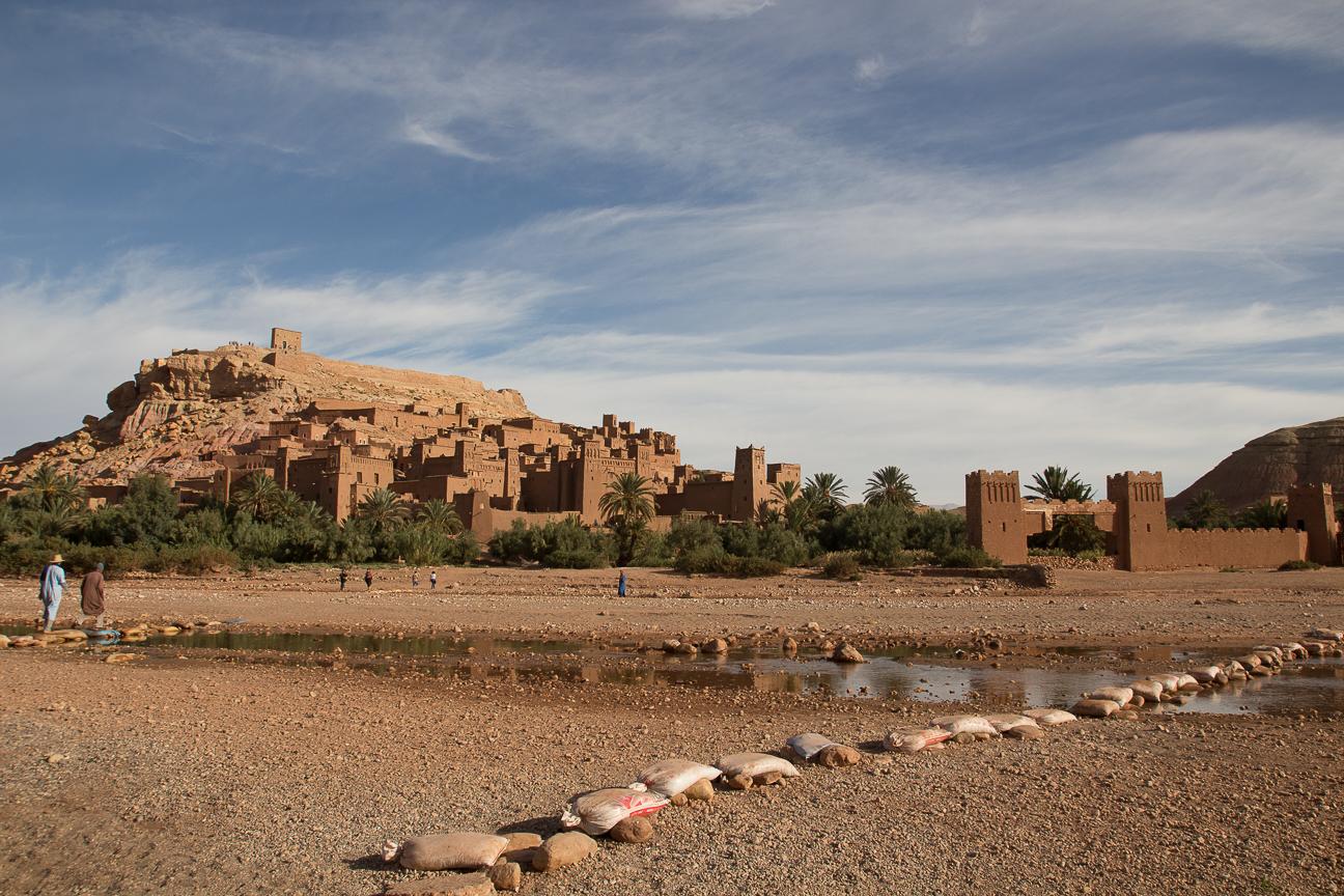Puente bereber en Ait Ben Haddou